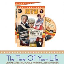 1970 to 1979  The time of your life DVD Greeting Card.